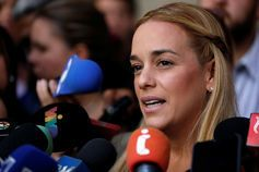 Rumour said Tintori's husband had died in jail.