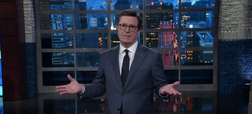 Stephen Colbert Uses 'Let It Go' From 'Frozen' To Mock Donald