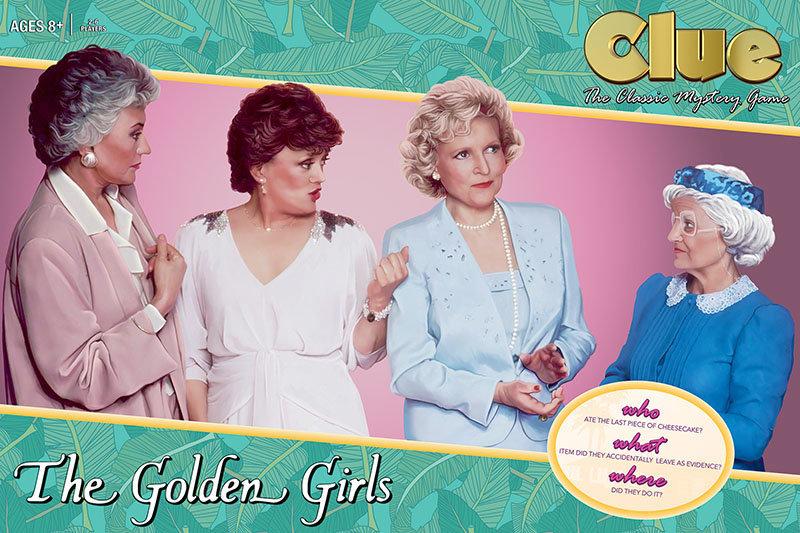"""Clue: The Golden Girls"" will hit stores in June."