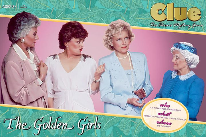 """Clue: The Golden Girls"" will hit stores in June."