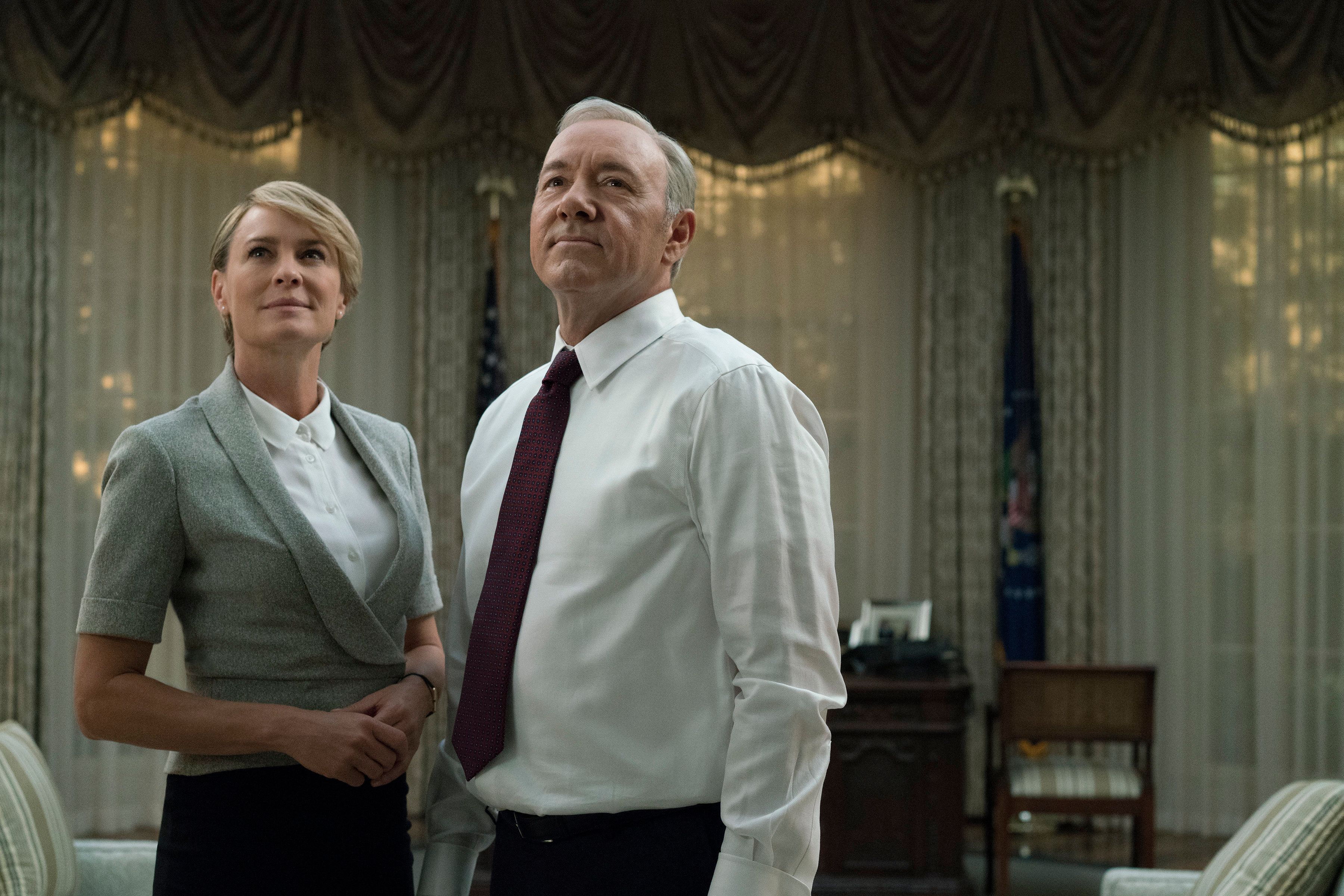 'House Of Cards' Star Robin Wright Has Discovered She's 'STILL Being Paid Less Than Kevin