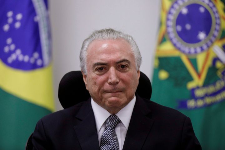 After listening to tape Temer says probe should be shelved
