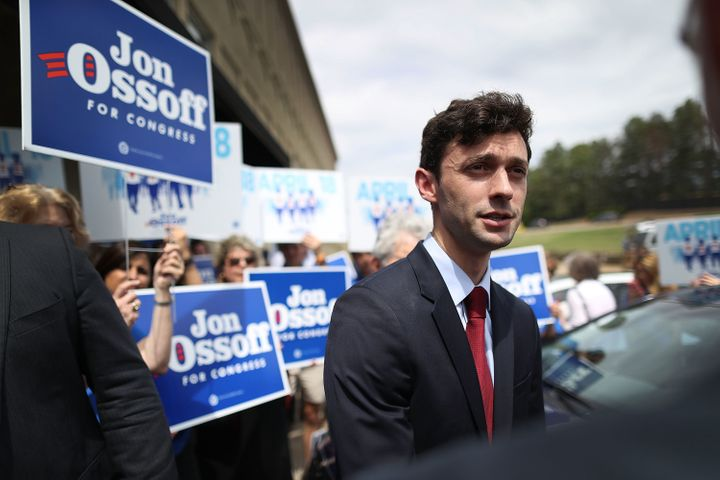 Democrat Jon Ossoff, 30, has a real shot at winning the House seat once held by Newt Gingrich. What in the world?