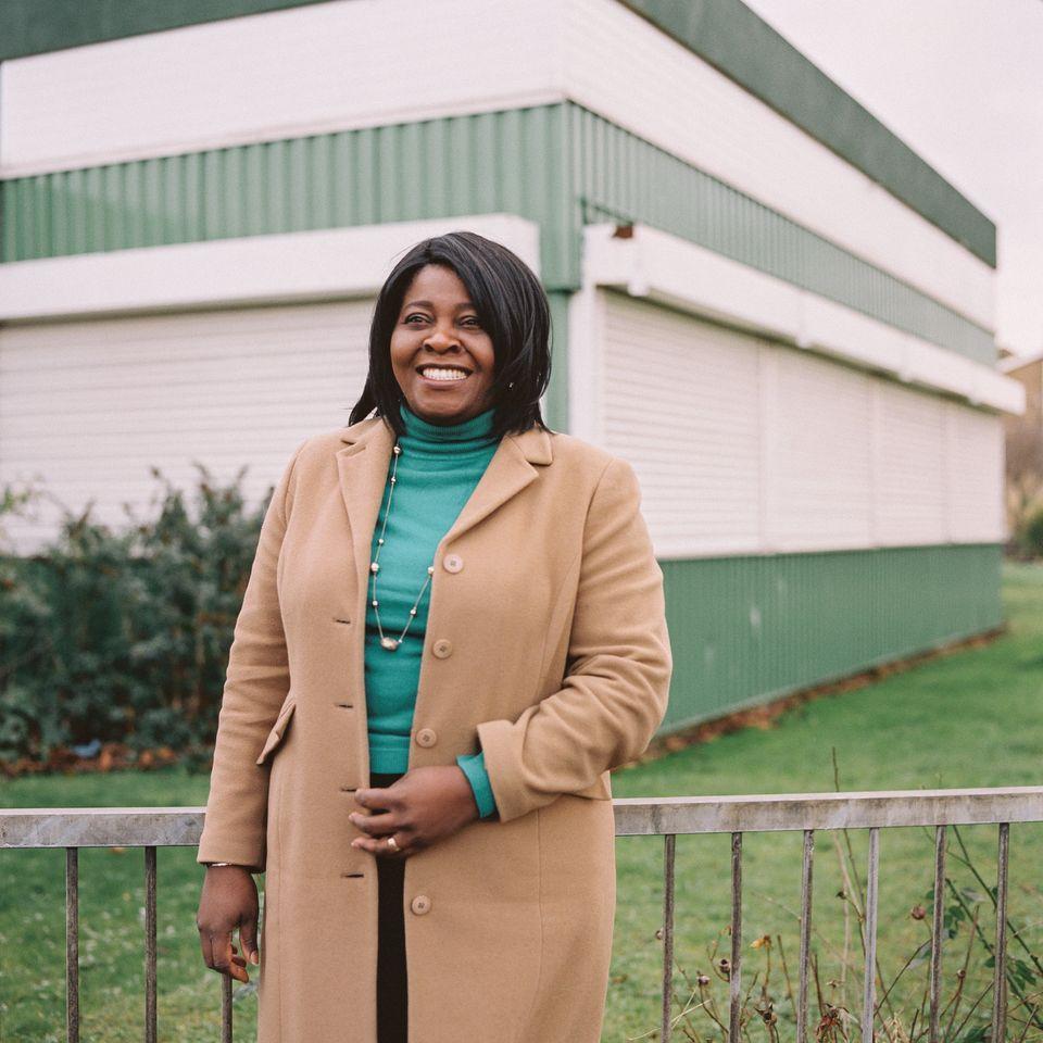 Bukky Okunade, Labour councillor for Tilbury, on Jan.