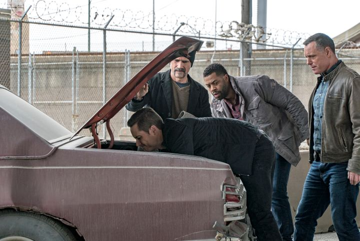 "A still from the ""Chicago P.D."" episode ""Army of One."""