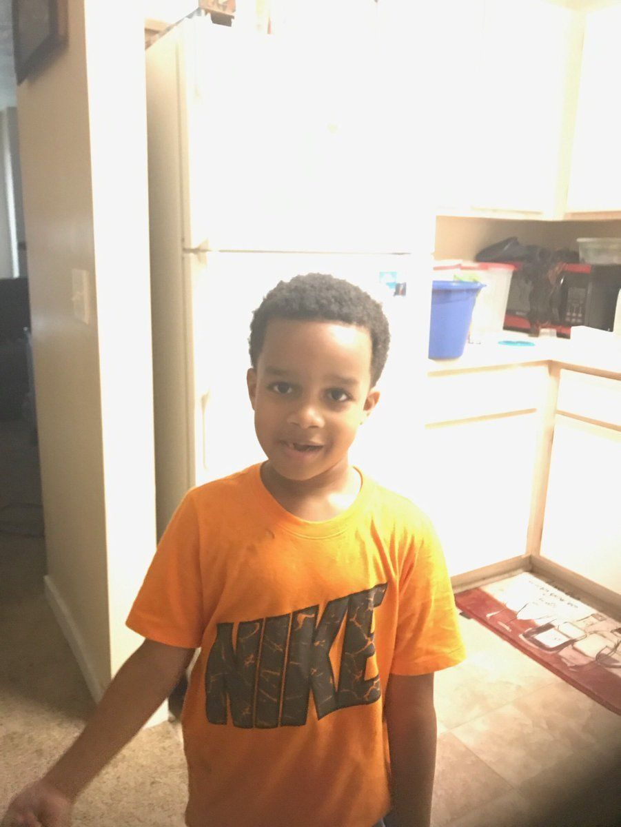 Kingston Frazer, 6, was found dead inside of his mother's car after it was stolen outside of a grocery store on Thursday, pol