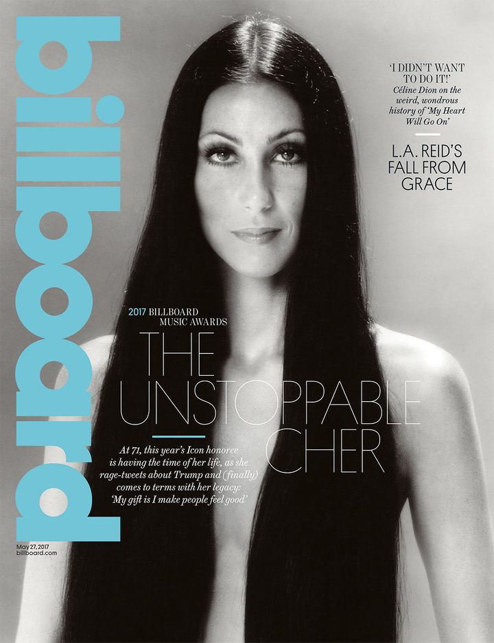 Billboard's May 27, 2017 cover.