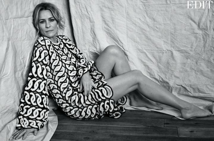 Wright poses for The EDIT's May cover story.