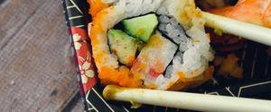 BOX CHOPSTICKS CONVENIENCE DINNER DISPLAY FISH FOO