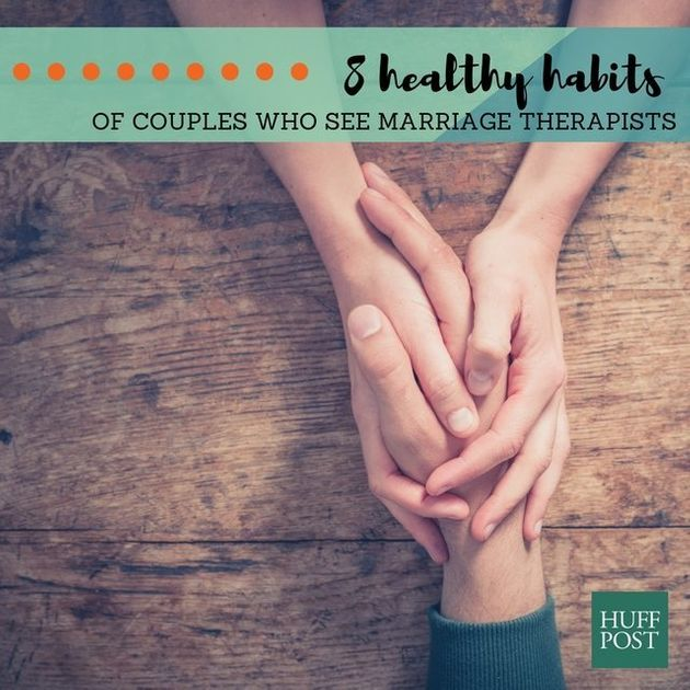8 Healthy Habits Of Couples Who Attend Marriage