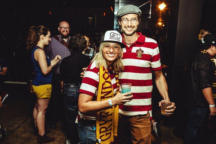 Muggles mingle at PotterCon Los Angeles.