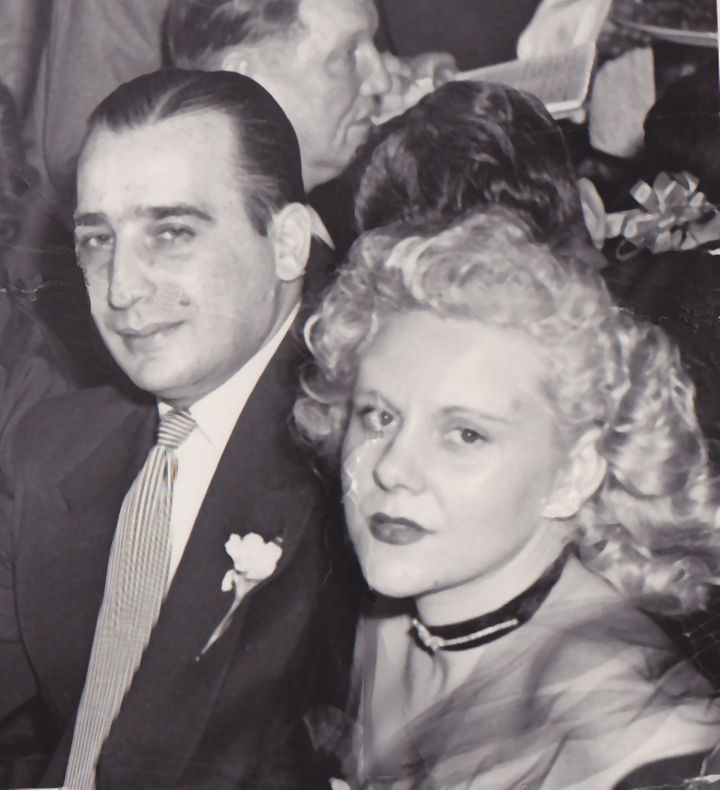 Viola Liuzzo with husband Anthony Liuzzo, Sr. in the early 1950s at a Teamsters's dinner.