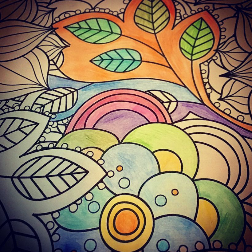 Coloring is the new thing. But sometimes you need a stronger Rx for self-care.