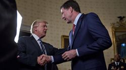 James Comey Reportedly Tried To Blend Into The Curtains So Trump Wouldn't Spot