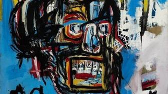 Unnamed work by Jean-Michel Basquiat drew gasps when it sold for 1105 million at auction