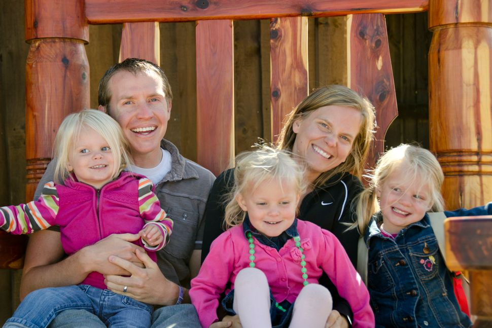 Alissa Parker, her husband, Robbie, and their daughters, Samantha and Madeline, moved back to the Pacific Northwest, where they'd lived for a short time when the girls were younger.