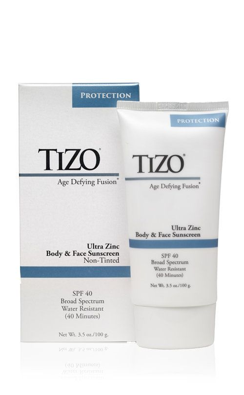 """Smith also recommends Tizo, because of its """"low irritation/allergy potential."""" According to its website, the sunscreenh"""