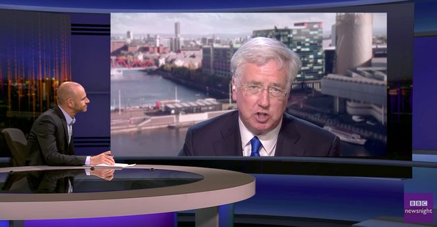 Michael Fallon admitted thatthe Tories do not know how much it will cost the exchequer to reduce...
