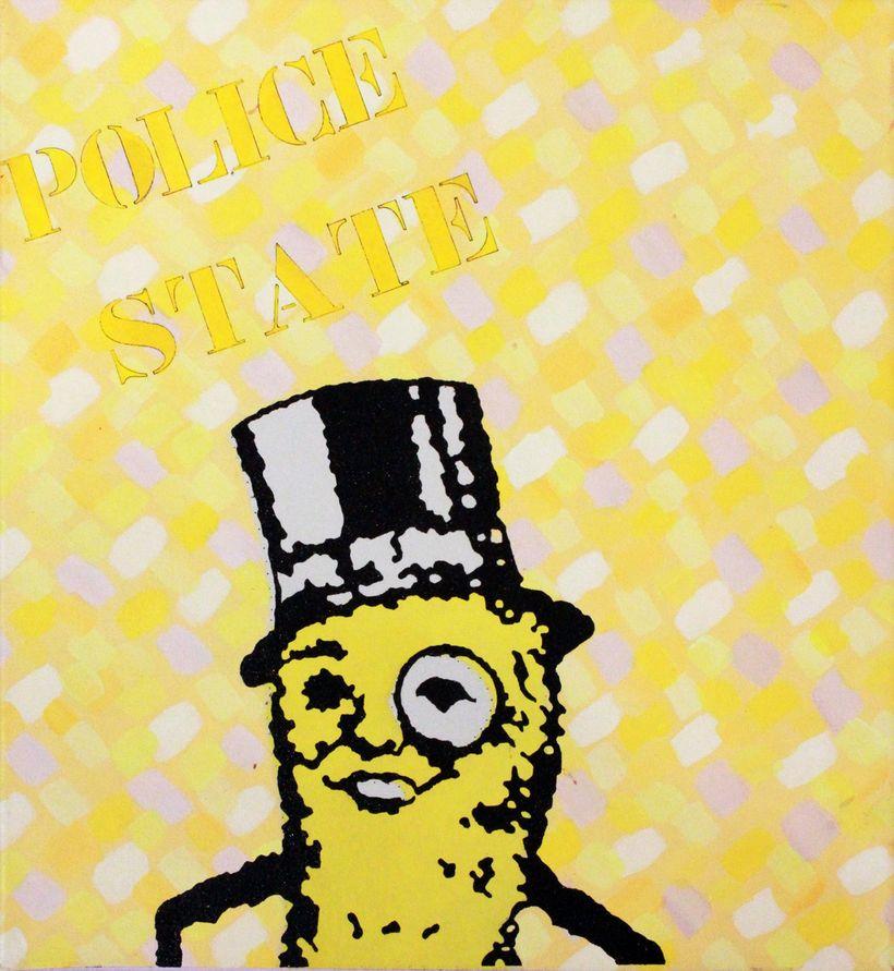 Clark V. Fox: Mr. Peanut Police State, 1987