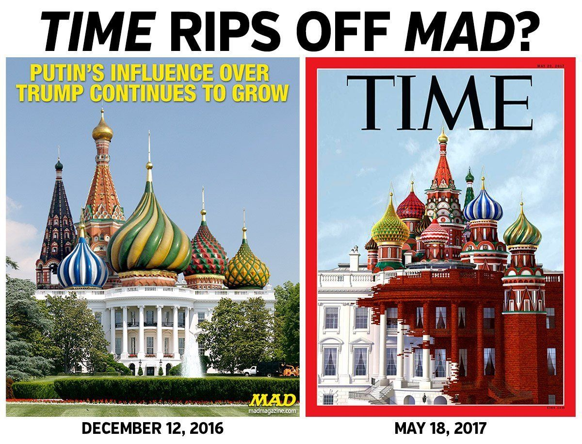 Mad Magazine vs Time