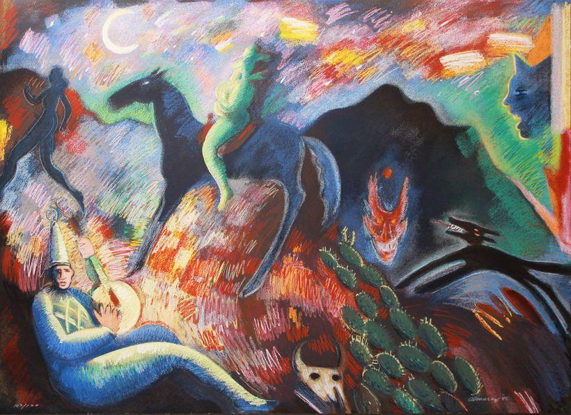 Carlos Almaraz: Southwest Song, 1988