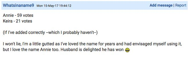 Woman Allows Mumsnet Users To Make Final Decision On Baby