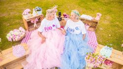 100-Year-Old Twins Celebrate Birthday Together And The Photos Are