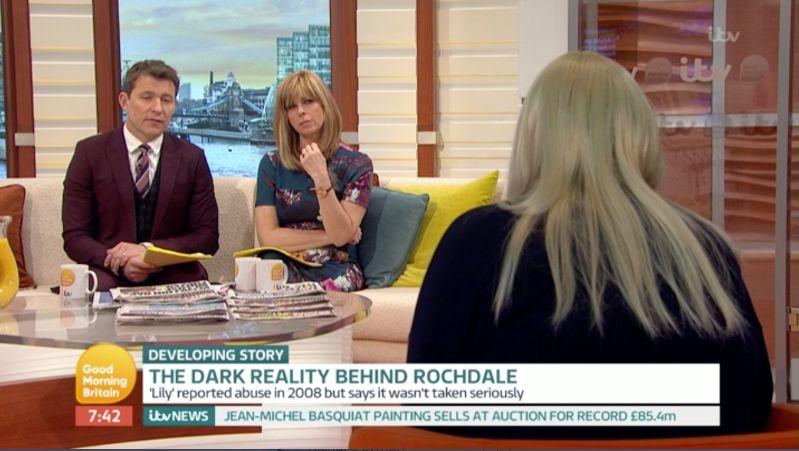 Real-Life 'Three Girls' Rochdale Victim Tells 'GMB': 'Grooming Felt
