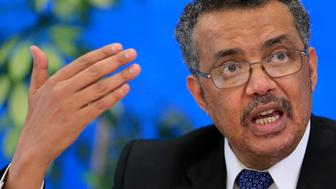 Tedros Adhanom Ghebreyesus, candidate for Director General of the World Health Organisation, attends a news conference at WHO headquarters in Geneva, Switzerland, January 26, 2017. REUTERS/Pierre Albouy
