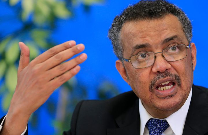 Tedros Adhanom Ghebreyesus, candidate for Director General of the World Health Organisation.