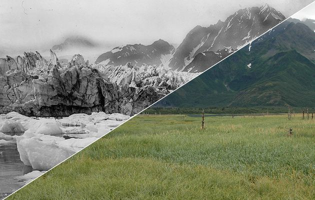 These Before And After Images Show The Startling Effects Of Climate