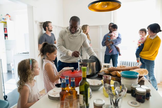 Host a gathering and hang