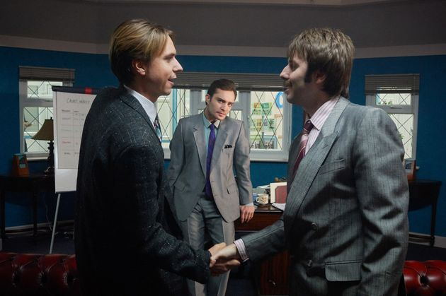 Joe Thomas and James Buckley co-star in 'White Gold', along with Ed