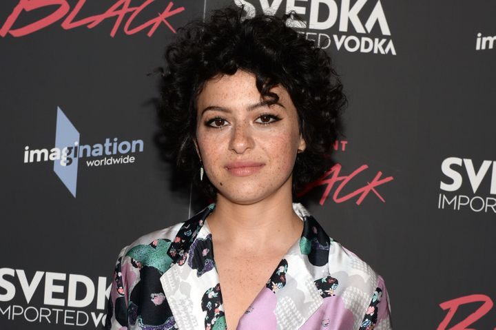 """""""There's no more delicacy in being quiet,""""Alia Shawkat said."""