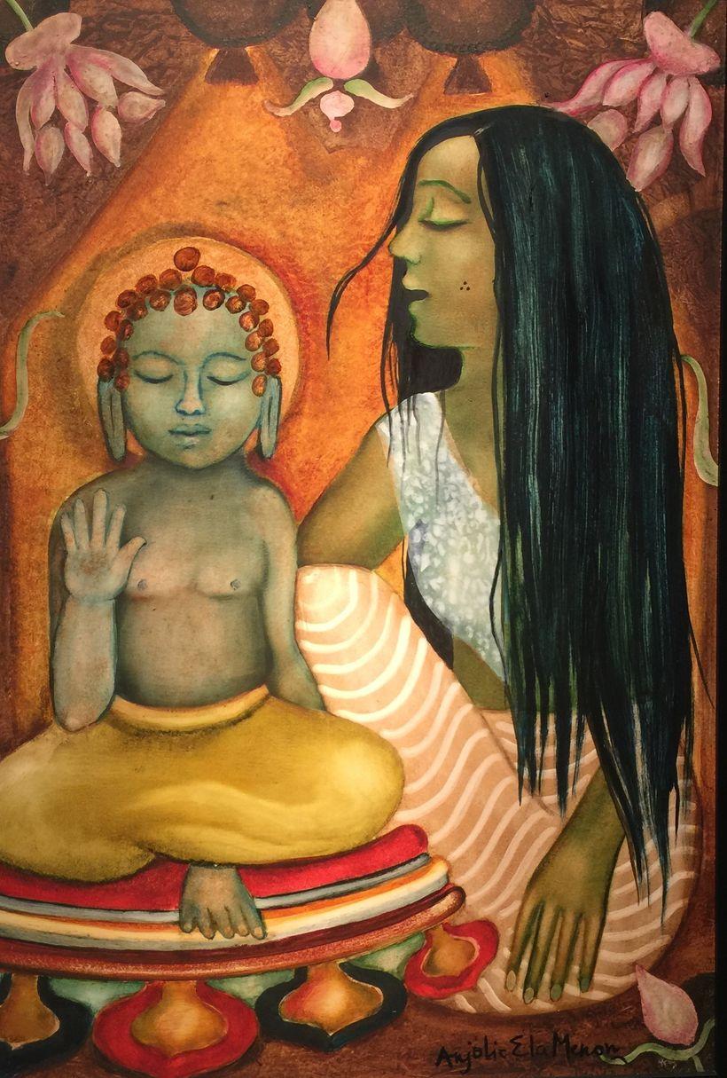 Maya and Gautama