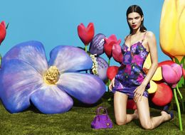 Kendall Jenner Stars In La Perla's Latest Lingerie Campaign, And It's A Floral Fantasy