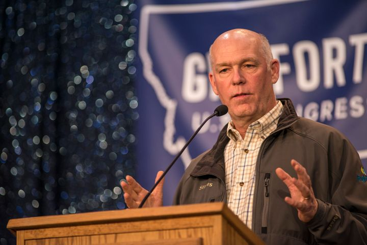 Greg Gianforte, the Republican candidate for Montana's open House seat, stands to benefit financially from the American