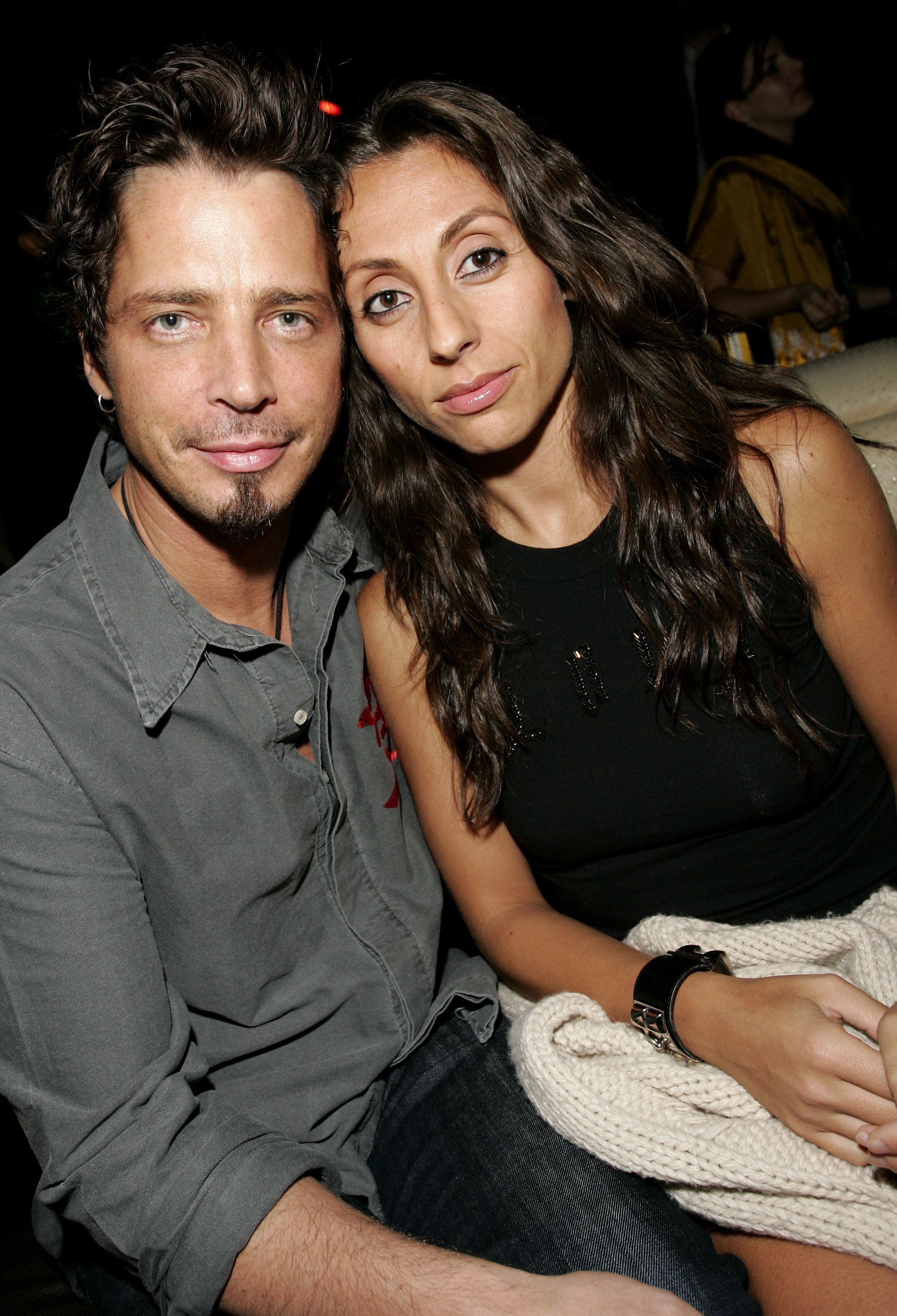 Chris Cornell and Vicky Cornell during Audioslave's Chris Cornell Hosts Party at Marquee - September 14, 2006 at Marquee in New York City, New York, United States. (Photo by Brian Ach/WireImage)
