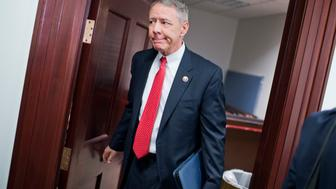 UNITED STATES - JANUARY 27: Rep. Ken Buck, R-Colo., leaves a meeting of the House Republican Conference in the Capitol, January 27, 2015. (Photo By Tom Williams/CQ Roll Call)