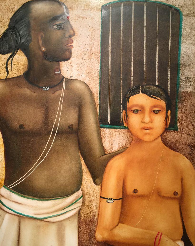 Guru with Acolyte