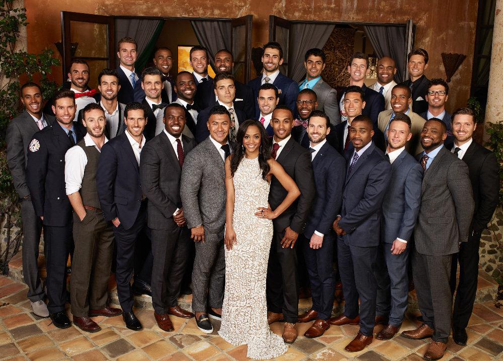 """The shining faces of Rachel's """"Bachelorette"""" 31 suitors."""