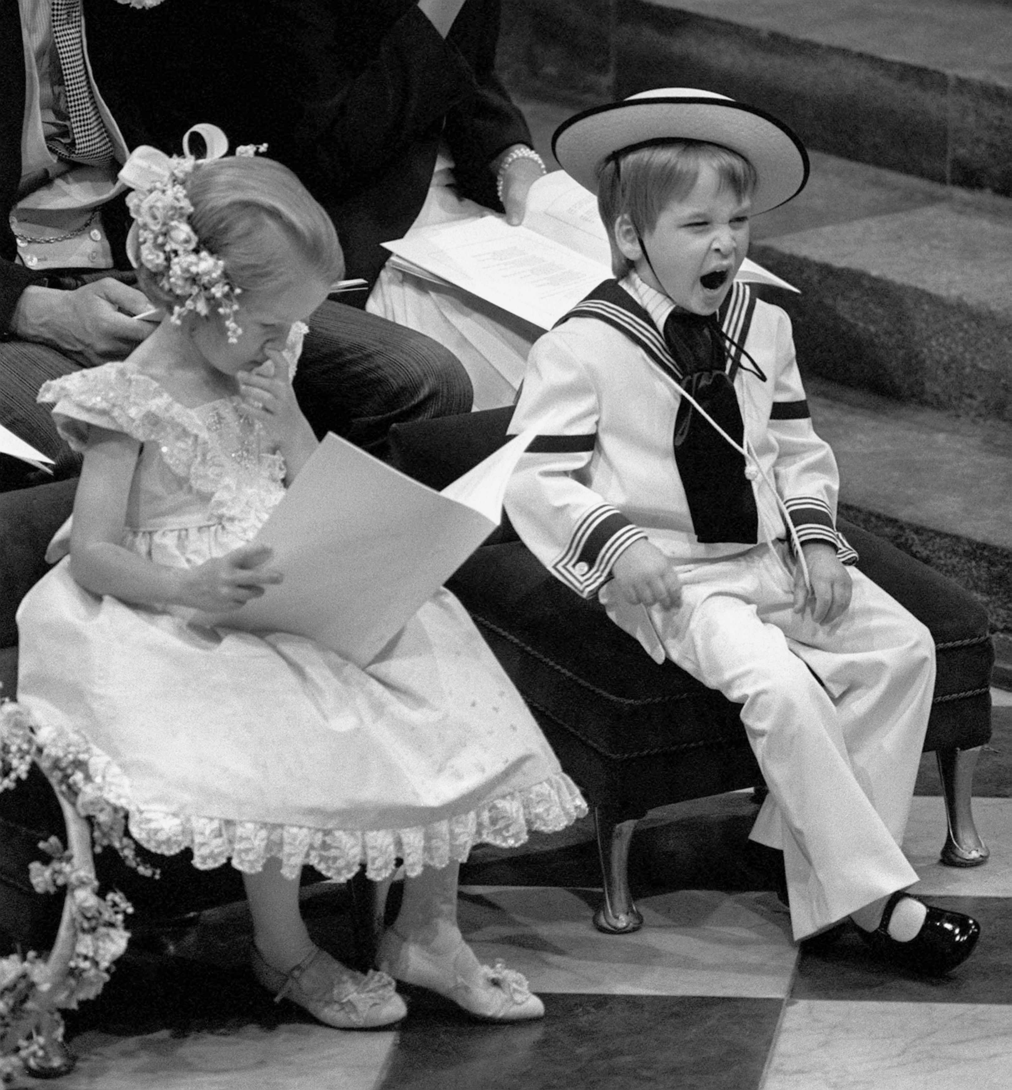 Prince William Was The Cutest Little Wedding Attendant As A
