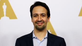 Actor Lin-Manuel Miranda arrives at the 89th Oscars Nominee Luncheon in Beverly Hills, California, U.S., February 6, 2017.  REUTERS/Mario Anzuoni