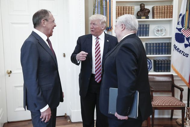 Donald Trump Told Russians James Comey Was A 'Nut