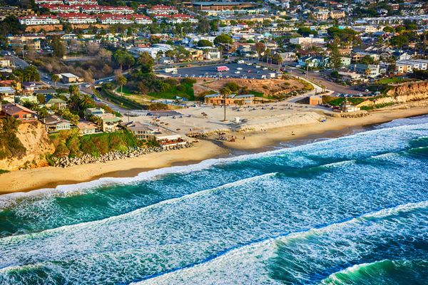 One of San Diego County's more northern cities, Encinitas has the laid-back Cali vibe that's gotten harder to find