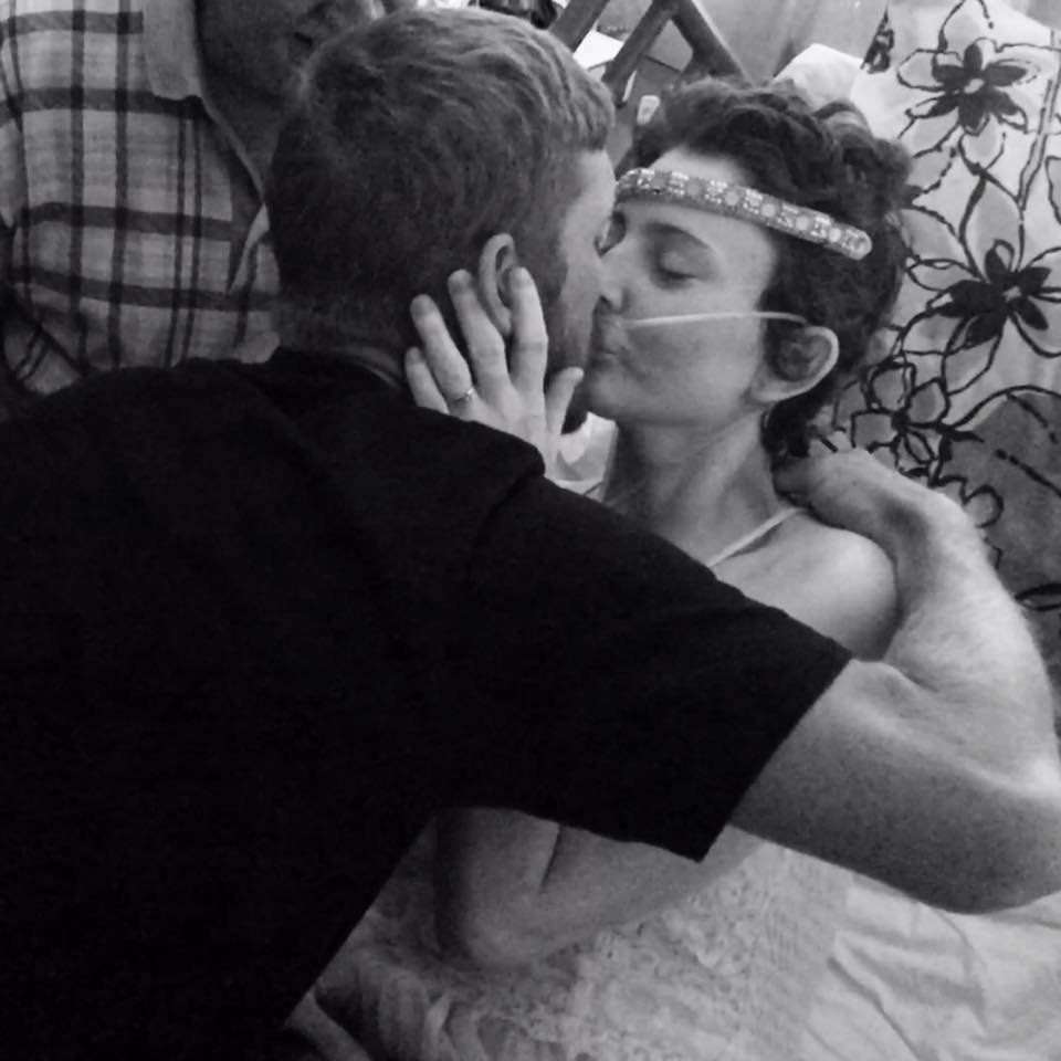 Bride Refuses To Let Incurable Cancer Stop Her