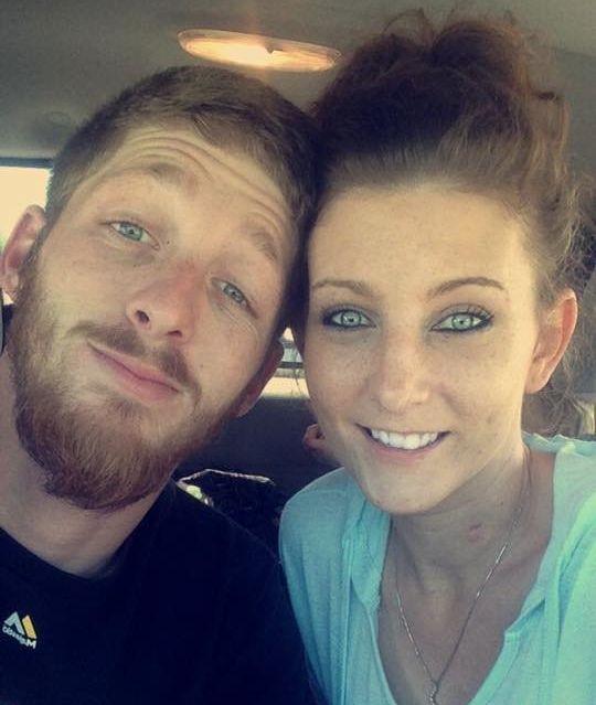 Matt Mager with fiancée Ronda Bivensin May 2016.