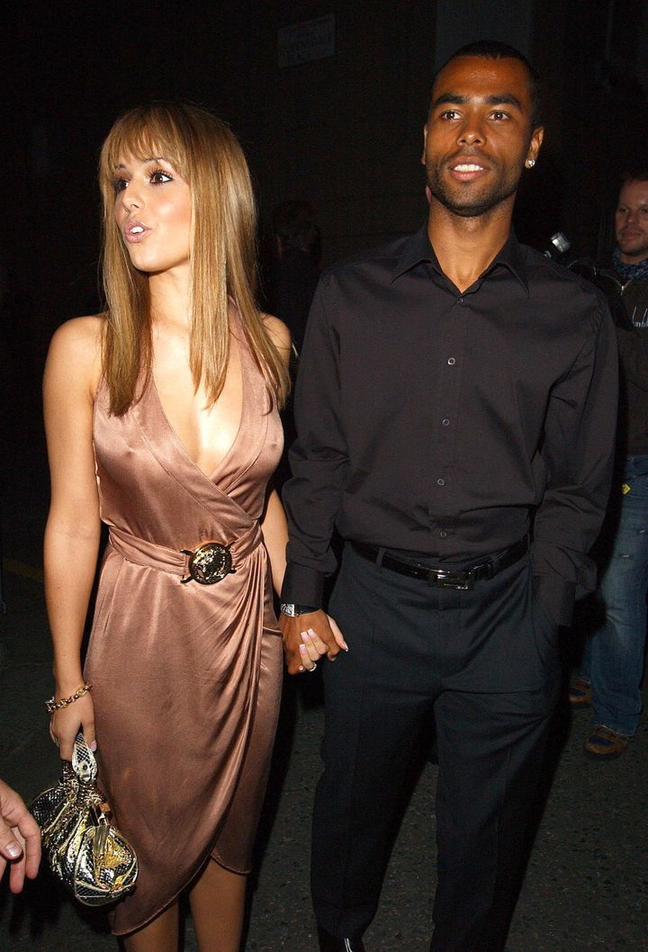 Cheryl and first husband Ashley Cole