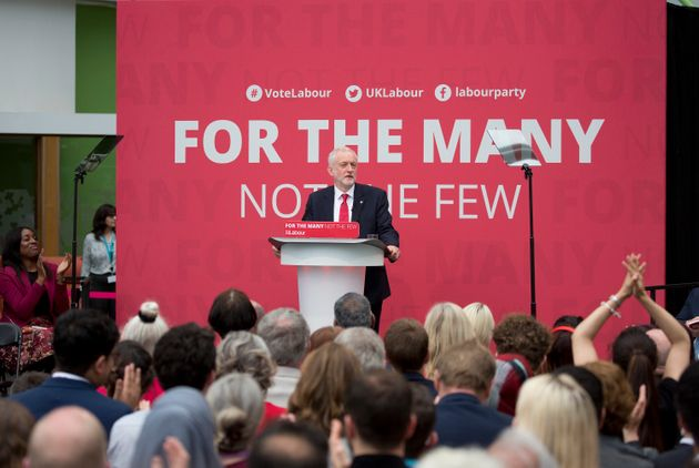 Jeremy Corbyn launches Labour's 2017