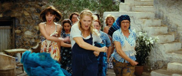 Meryl Streep and the rest of the cast of 'Mamma